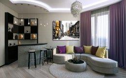Дизайн 3 квартиры г. Люберцы